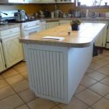 cheap kitchen island upgrade