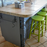 kitchen island stool color