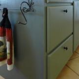 kitchen island painting job