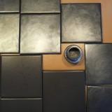 glazed tiles for backsplash