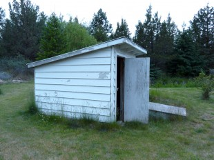 Wasted space - pump house