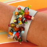 beaded cuff bracelets are easy