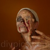 Zombie effects makeup