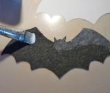 bat ornament craft