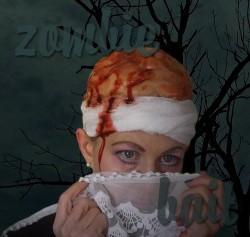 DIY zombie makeup