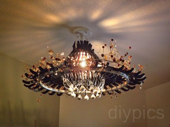 black hanger chandelier