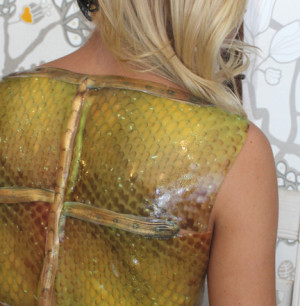 snake skin costume